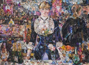 Vik Muniz Exhibiting at Ben Brown Gallery