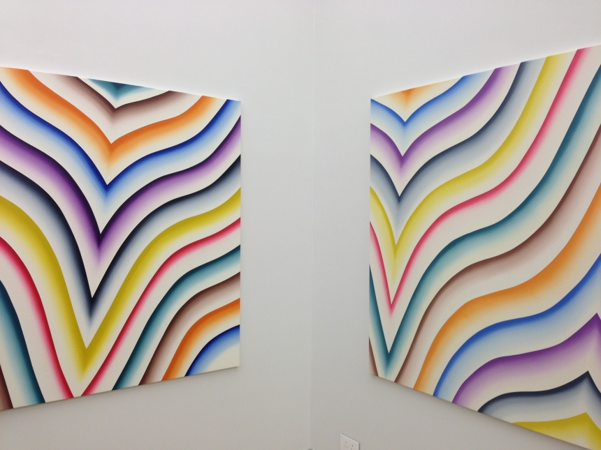 'Fat Paintings' at Simon Lee Gallery HK, 2011