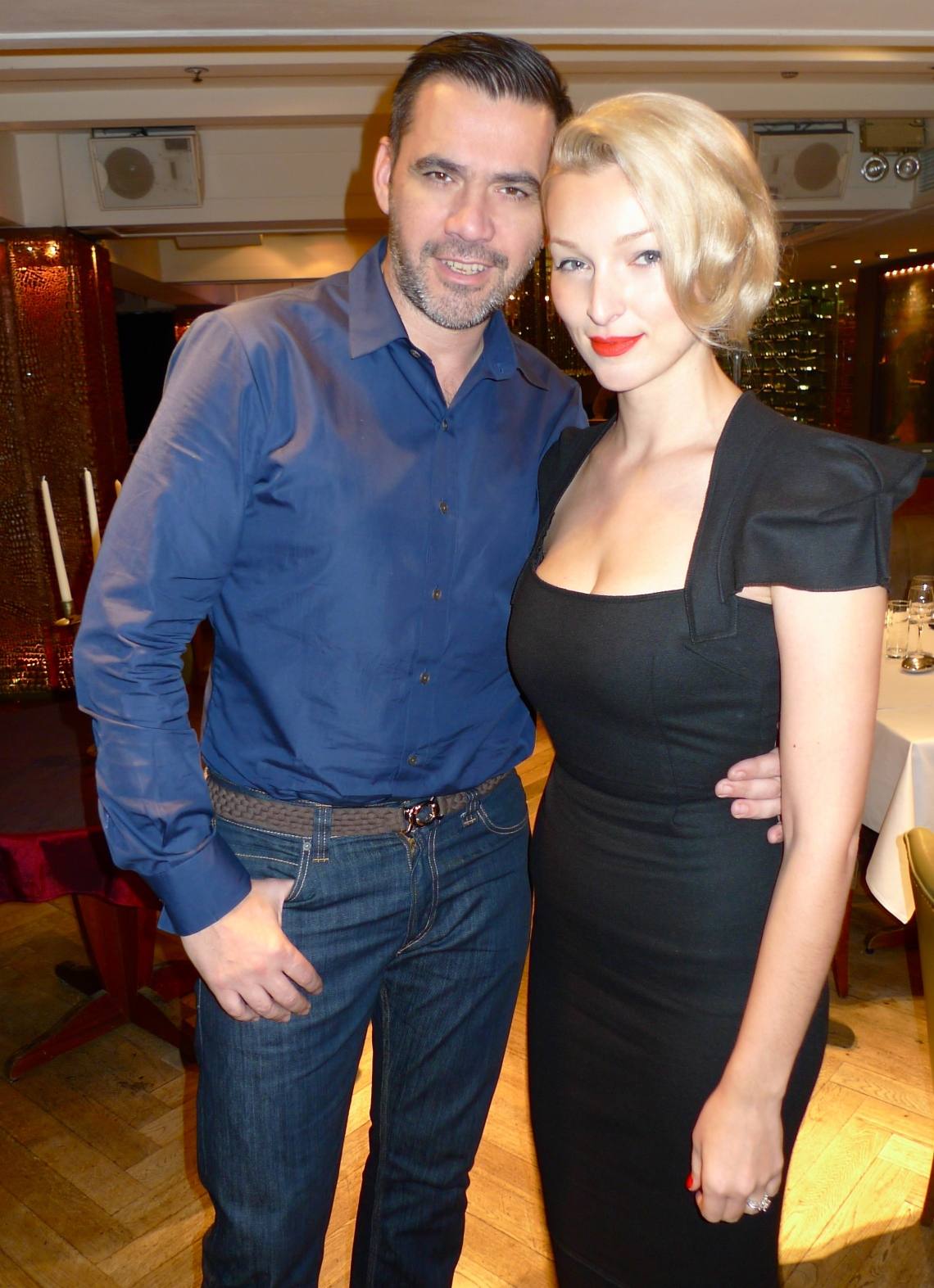 With Roland Mouret