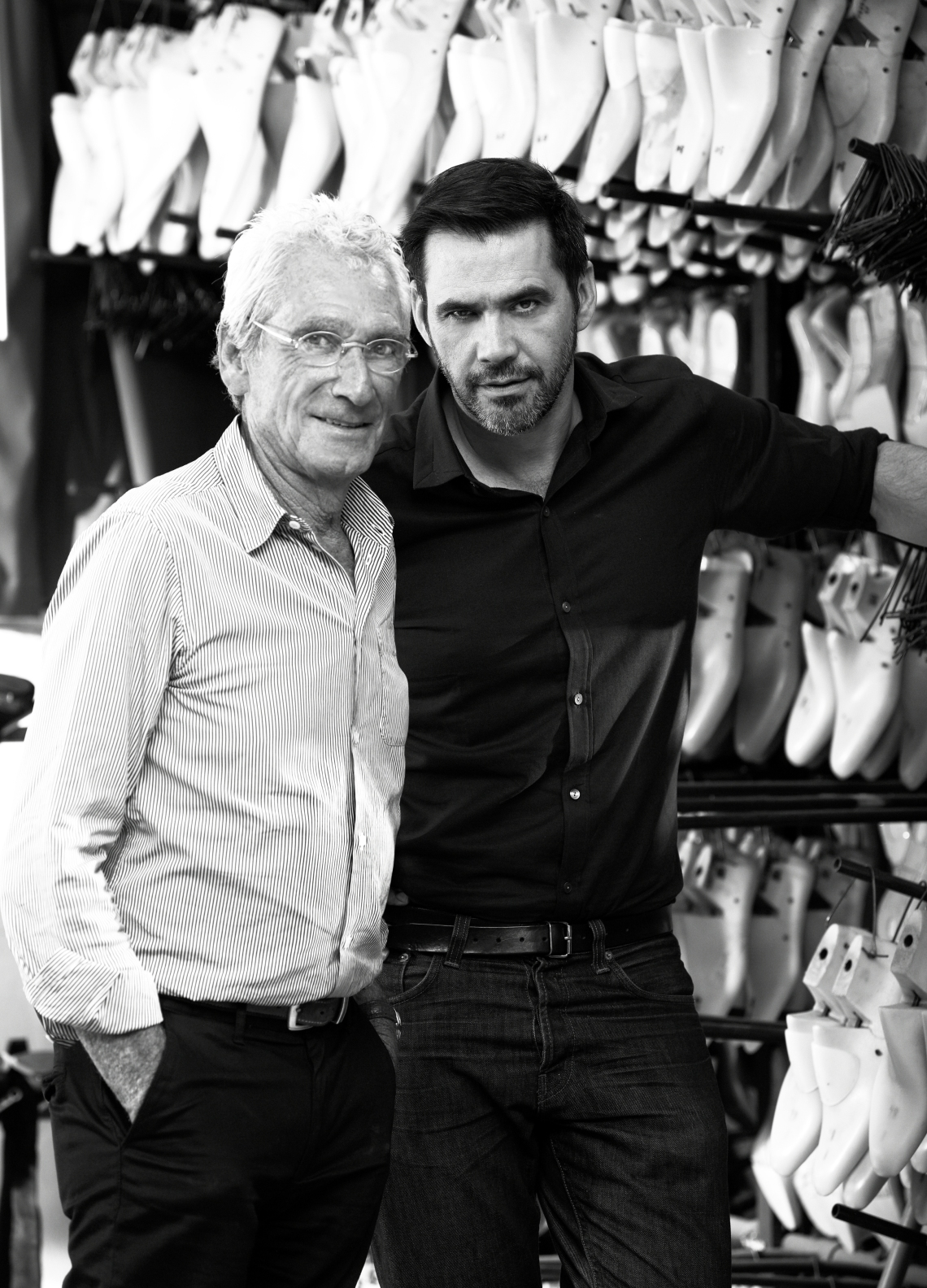 Robert Clergerie and Roland Mouret
