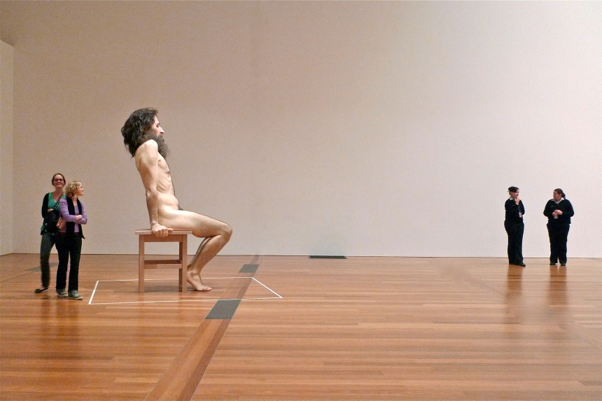 'Ron Mueck' at the Gallery of Modern Art, Queensland Art Gallery, 2010
