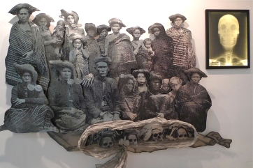Pintor Sirait at the Indonesian Pavilion
