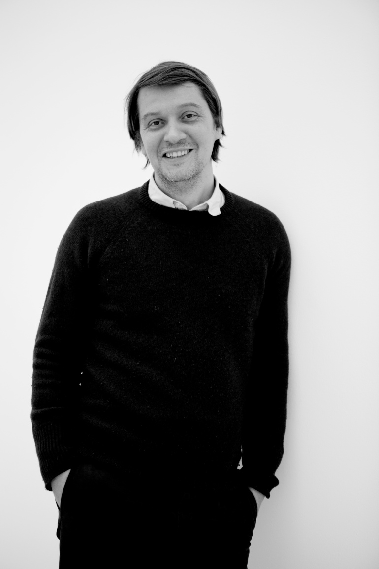 Lionel Estève. Portrait by Guillaume Ziccarelli