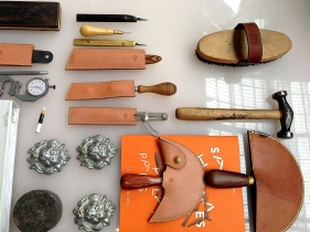 Leather cutting tools