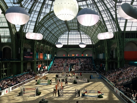 Spectacular venue - the historic Grand Palais