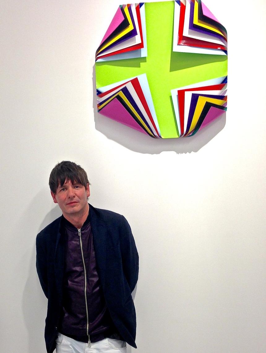 Jim Lambie and 'Metal Box (Istanbul)', 2013