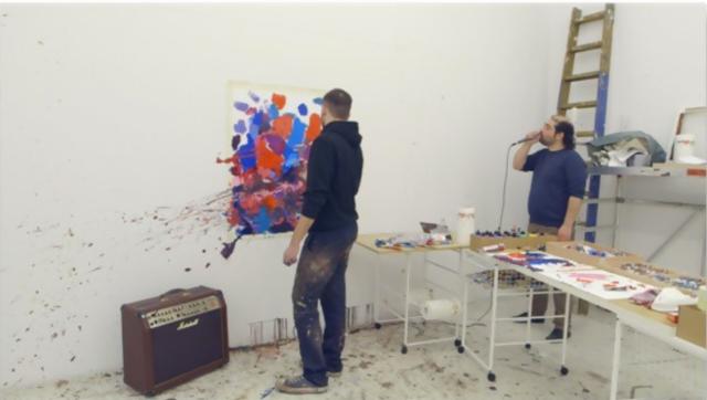 Adrian Ghenie & Navid Nuur, 'The Possibility of Purple', 2011. Galeria Plan B.