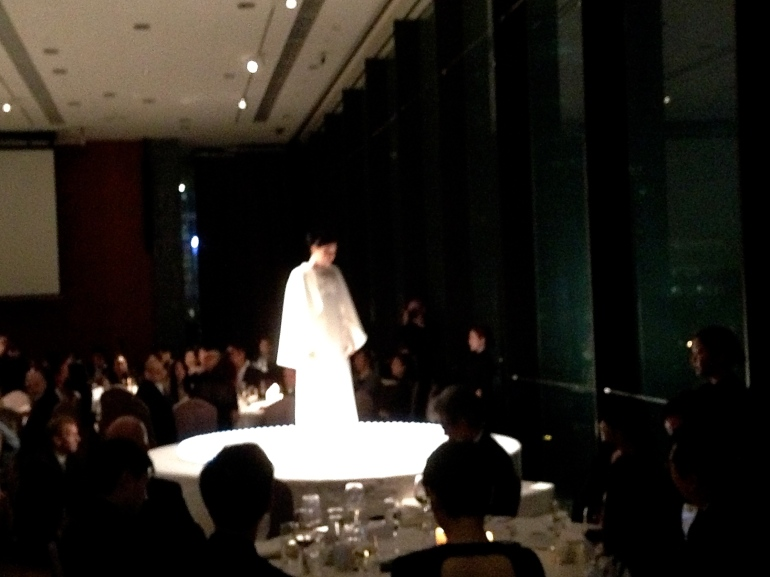 Mariko Mori performs 'Oneness' at Asia Society gala dinner