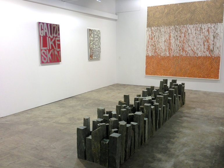 Richard Long, 'Trastevere Spring Line', 2012, at Galleria Lorcan O'Neill, Rome