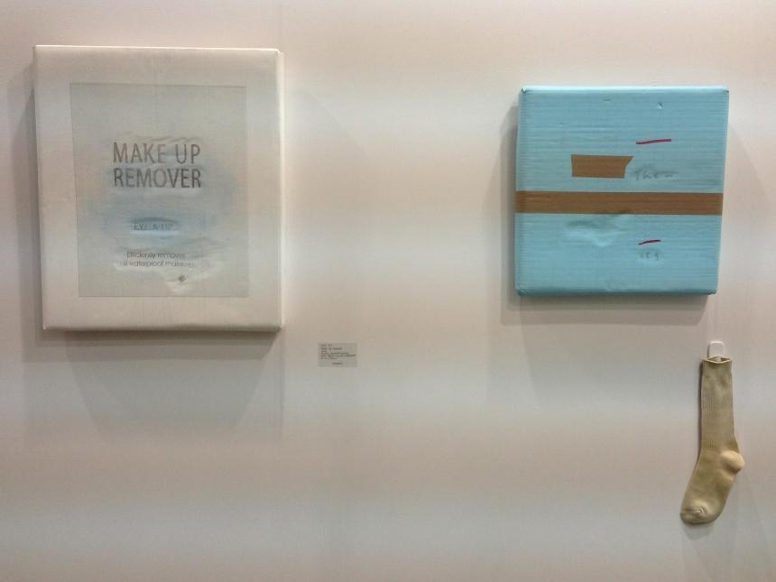 Hong Kong artist Lee Kit at  Lombard Freid Gallery
