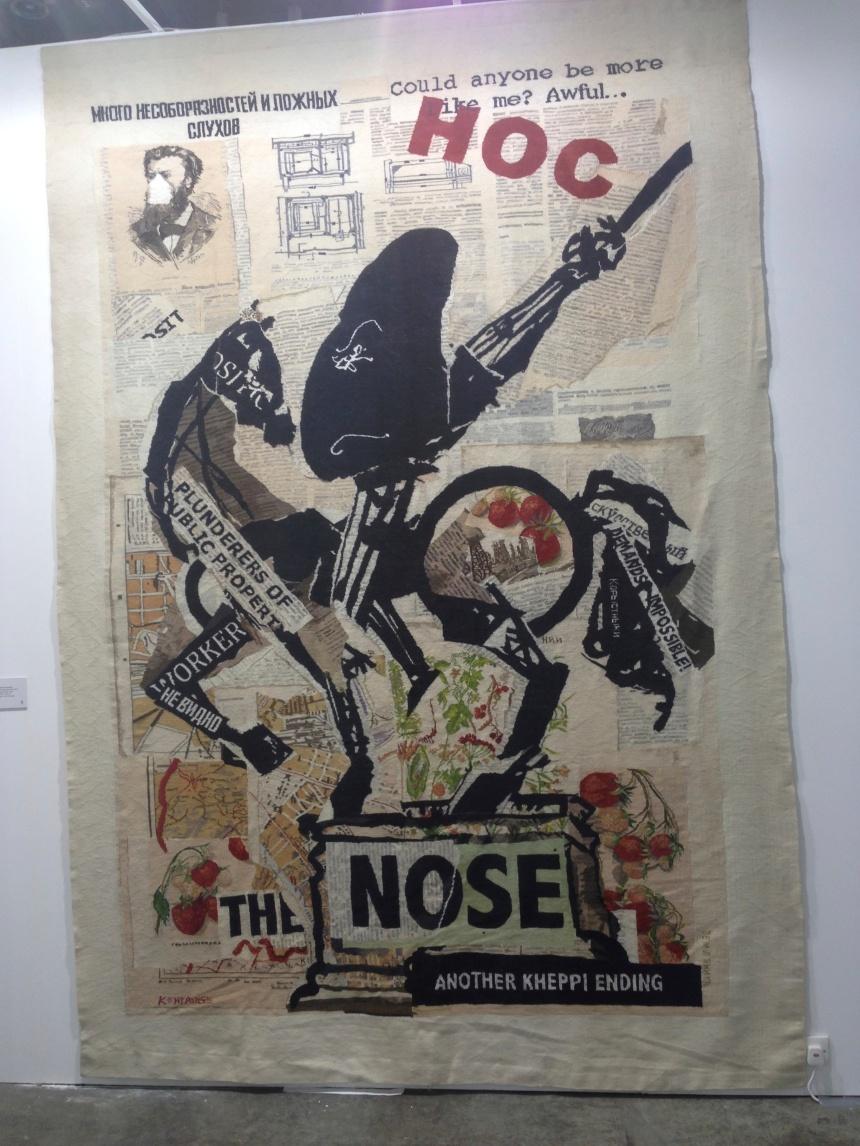 William Kentridge, 'Nose (with Strawberries)', 2012. Volte Gallery.