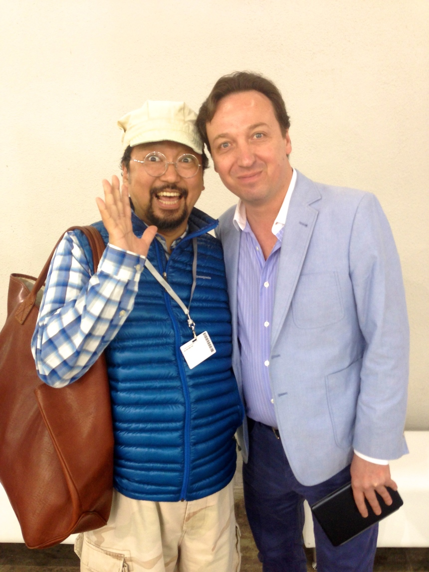 Takashi Murakami and Emmanuel Perrotin