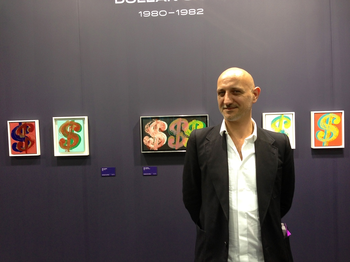 Stephane Ackermann, Artistic Director of Istanbul Art International and India Art Fair