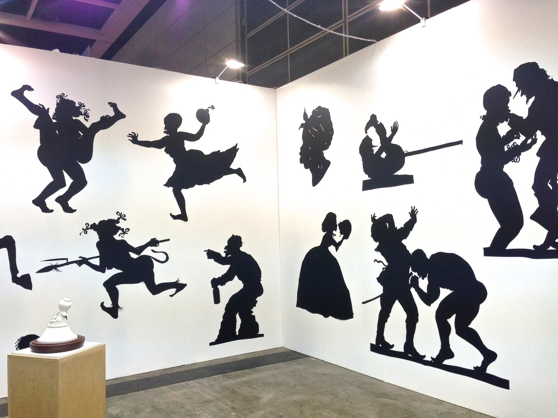 Kara Walker, 'Auntie Walker's Wall Sampler for Savages', 2013. Sikkema Jenkins & Co, New York