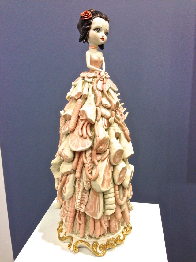Mark Ryden, 'Porcelain Meat Dress', 2012. Paul Kasmin Gallery.