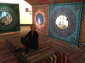 Installation by Russian art collective, AES+F, at Akademie der Künste