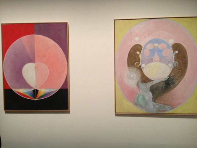 Hilma af Klint in The Encyclopedic Palace