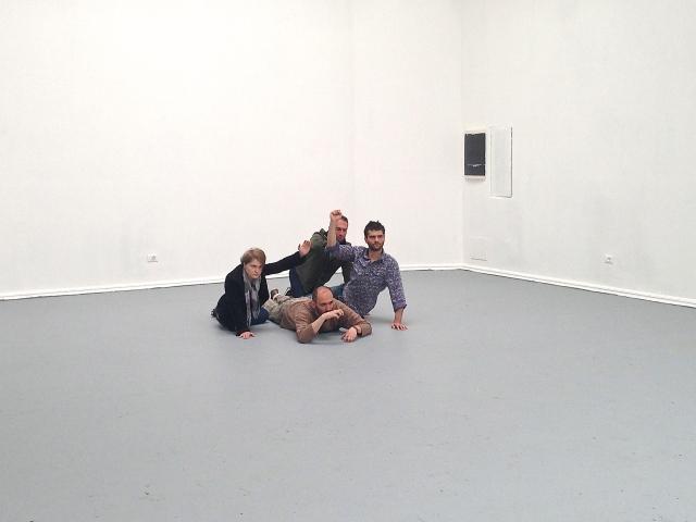 Alexandra Pirici and Manuel Pelmus, 'An Immaterial Retrospective of the Venice Biennale', Romanian Pavilion