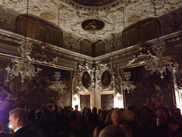 Midnight feasts and parties in decadently beautiful palazzi