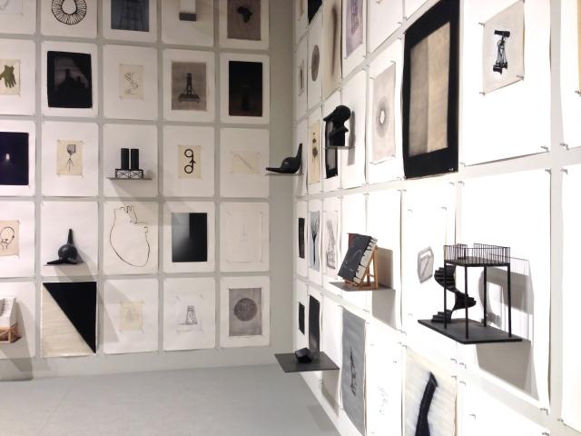 Marco Tirelli's architectural installation at the Italian Pavilion