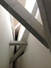 The interior of the Daniel Libeskind designed Jewish Museum