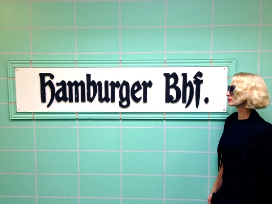 The Hamburger Banhof Museum, a collection of contemporary art housed in a former railway station