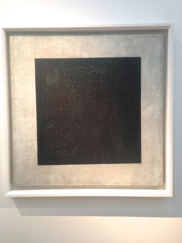 Kazimir Malevich, 'Black Square', 1915, at New Tretyakov State Gallery