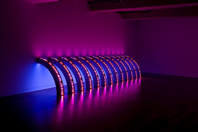 Jenny Holzer 'Ribs', 2010. Photo: Richard-Max Tremblay Courtesy: Sprüth Magers Berlin/ London