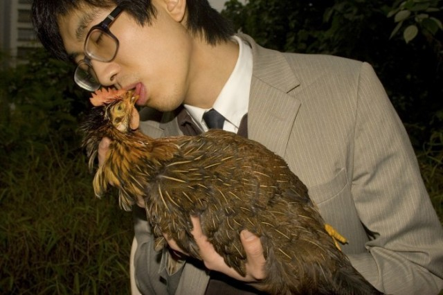 Adrian Wong, 'Chicken Kiss', 2007, digital print