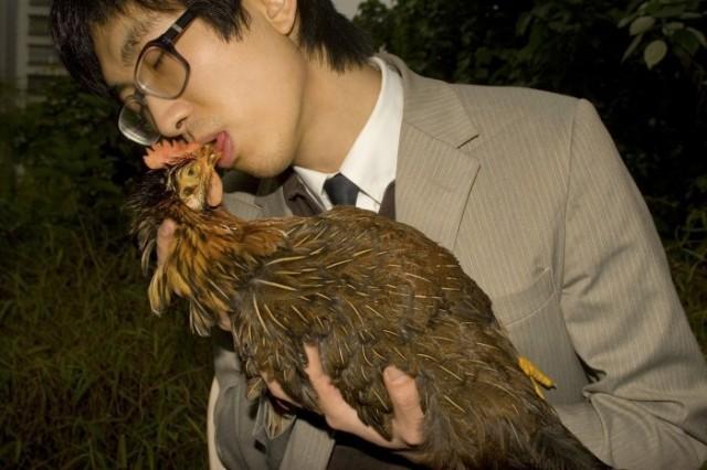 Adrian Wong, 'Chicken Kiss', 2007, digital print