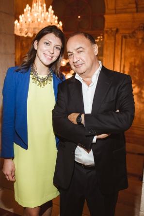 Svetlana Marich and Len Blavatnik