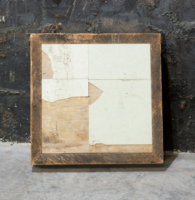 'Floor, Dorchester', 2012, wood and linoleum. © Theaster Gates. Photo: Sara Pooley Courtesy White Cube