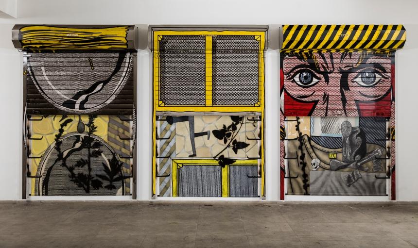 Atul Dodiya, 'Eyes', 2013, at 10 Chancery Lane Gallery