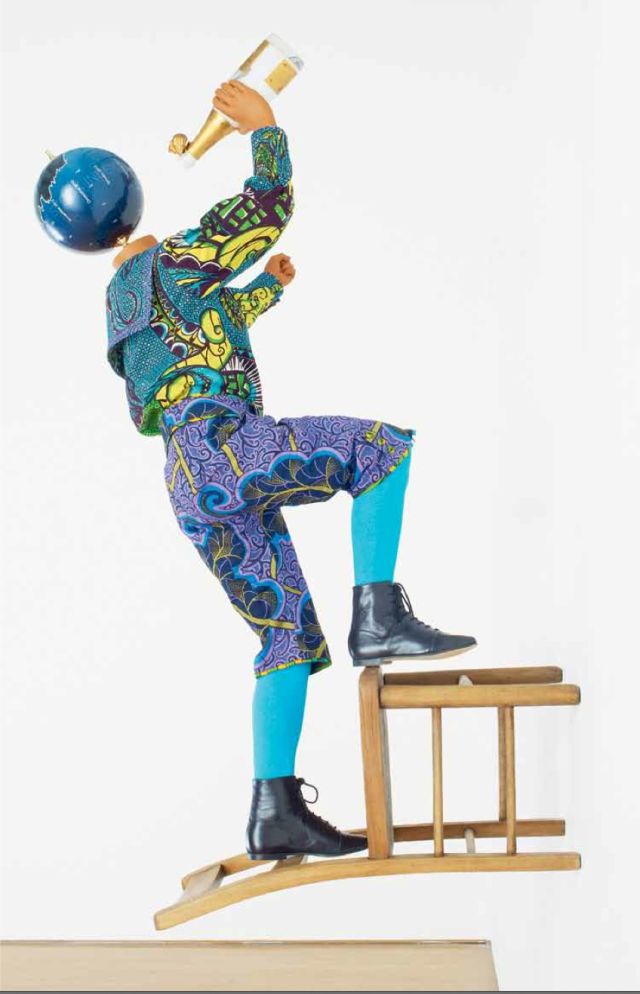 'Champagne Kid (Stepping)', 2013. Photo courtesy of Stephen Friedman Gallery, London.