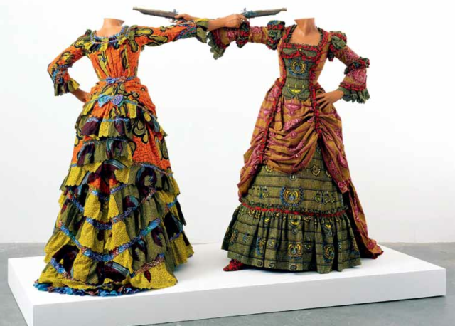 'How to Blow Up Two Head at Once (Ladies)', 2006. Photo by Stephen White, courtesy of Yinka Shonibare MBE