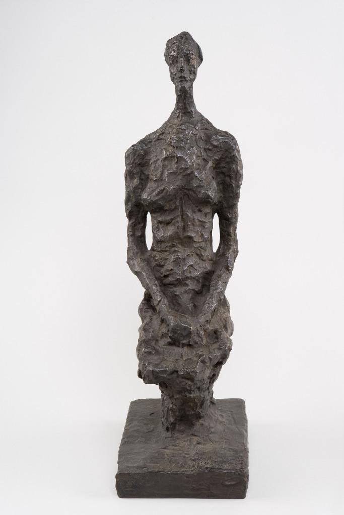 Alberto Giacometti Annette assize (petite), 1956, Collection Fondation Giacometti, Paris. © Estate Giacometti (Fondation Giacometti and ADAGP, Paris) 2014