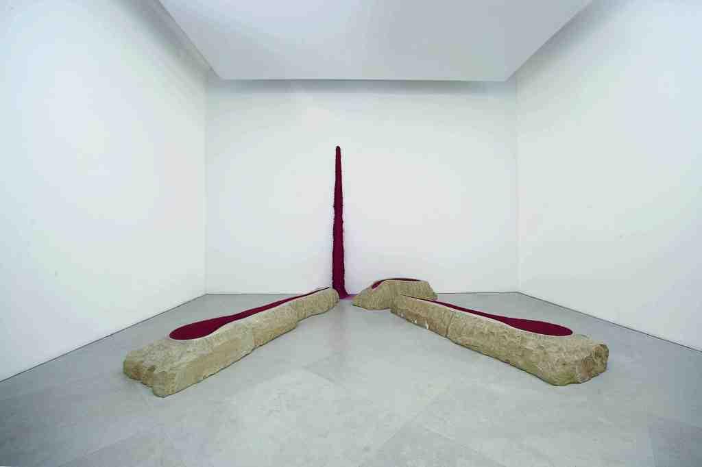 'Wound', 1988. Courtesy: Museo d'Arte Contemporanea Donna Regina, Naples