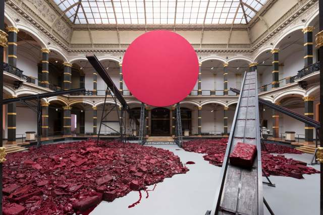 'Symphony for a Beloved Sun', 2013. Martin Gropius Bau, Berlin. 					 Photo: Dave Morgan Courtesy the artist