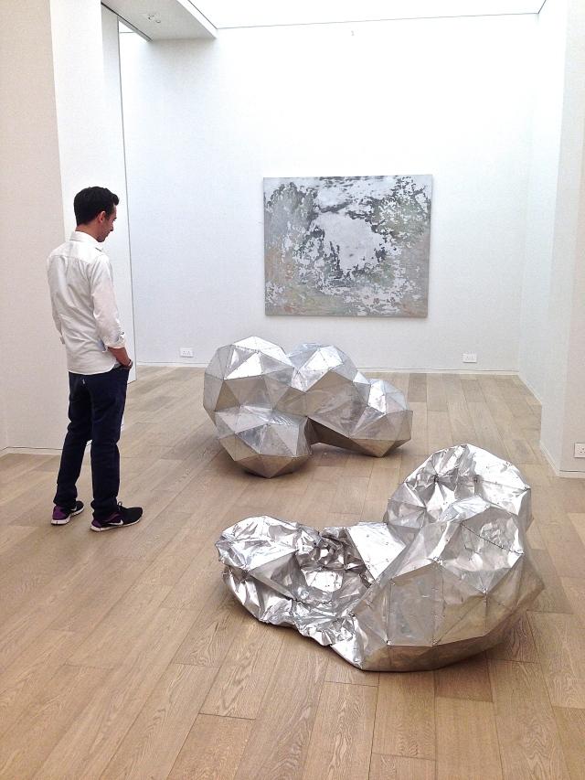 Gallery installation at Simon Lee HK