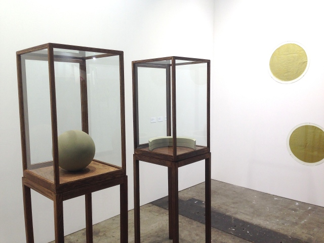 James Lee Byars at Michael Werner Gallery.