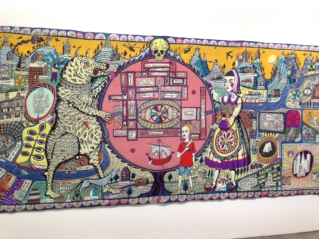 Grayson Perry, 'The Walthamstow Tapestry', 2009, at Victoria Miro Gallery