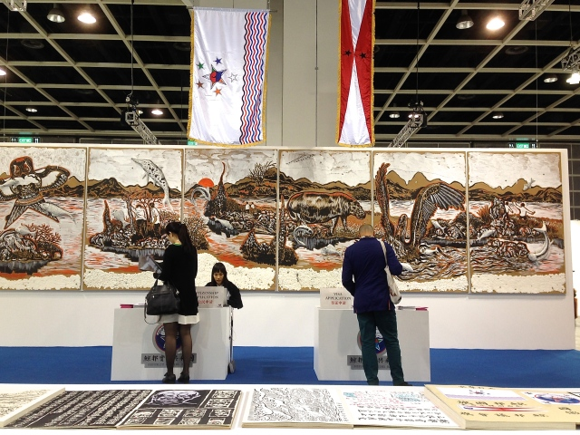 Sun Xun, 'Republic of Jing Bang'. Presented by STPI and ShanghArt as part of Art Basel Encounters.