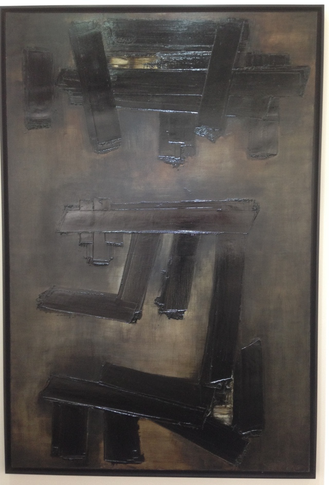 Pierre Soulages at Applicat Prazan gallery