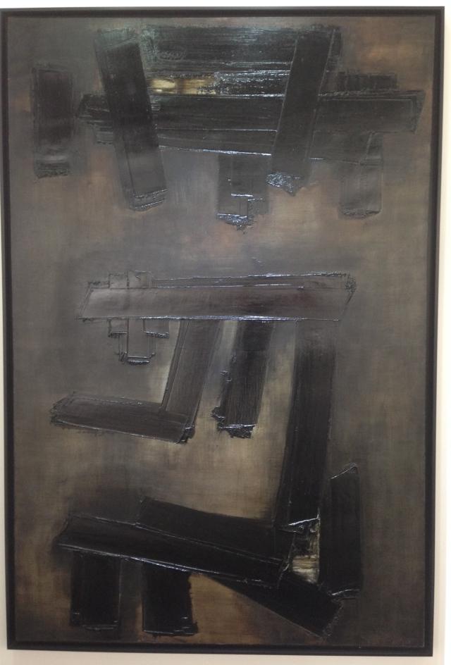 Pierre Soulages at Applicat Prazan gallery