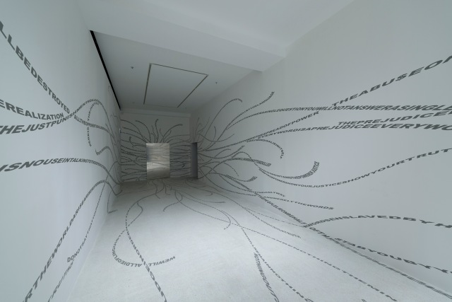 'Ecce Homo Trilogy I, 2011-12, Pearl Lam Galleries, Hong Kong. Courtesy of the artist.