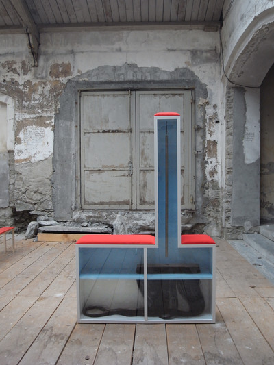 Yves Netzhammer, object from the installation 'Schattendicken', 2011. Julius Bär Collection.