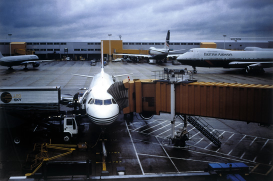 Fischli/Weiss, 'London British Airport'.  UBS Collection.