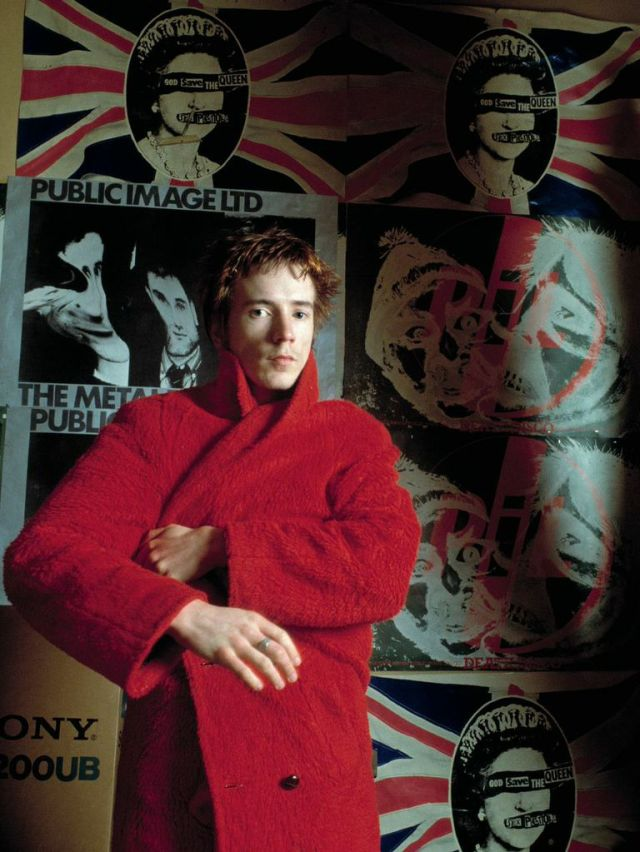 John Lydon of the Sex Pistols