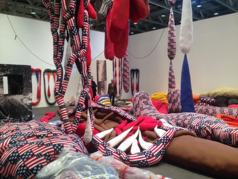 'Soft Work', 2014, at Art Basel