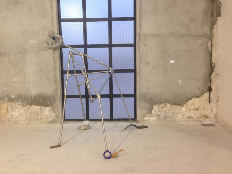 Sculpture by Yu Honelei at Magician Space, Beijing